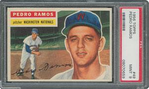1956 Topps #49 Pedro Ramos - PSA MINT 9 - one Higher!