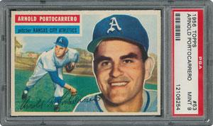 1956 Topps #53 Arnold Portocarrero - PSA MINT 9 - one Higher!