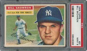 1956 Topps #61 Bill Skowron - PSA MINT 9 - None Higher!