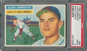 1956 Topps #64 Luis Arroyo - PSA MINT 9 - None Higher!