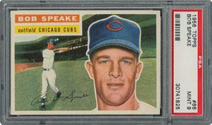 1956 Topps #66 Bob Speake - PSA MINT 9 - None Higher!