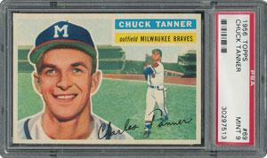 1956 Topps #69 Chuck Tanner - PSA MINT 9 - None Higher!