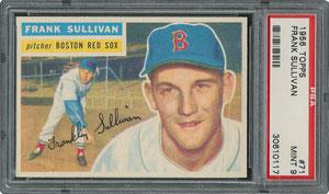 1956 Topps #71 Frank Sullivan - PSA MINT 9 - None Higher!