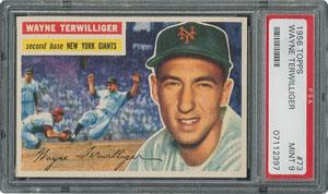 1956 Topps #73 Wayne Terwilliger - PSA MINT 9 - one Higher!