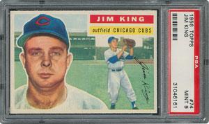 1956 Topps #74 Jim King - PSA MINT 9 - one Higher!