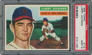 1956 Topps #119 Larry Jackson - PSA MINT 9 - None Higher!