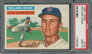 1956 Topps #122 Willard Nixon - PSA MINT 9 - None Higher!