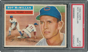 1956 Topps #123 Roy McMillan - PSA MINT 9 - None Higher!
