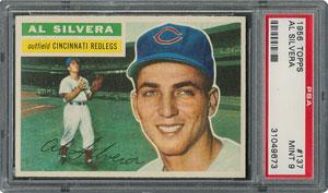 1956 Topps #137 Al Silvera - PSA MINT 9 - one Higher!