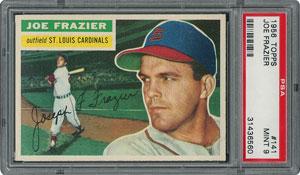 1956 Topps #141 Joe Frazier - PSA MINT 9 - one Higher!