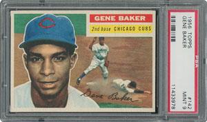 1956 Topps #142 Gene Baker - PSA MINT 9 - one Higher!