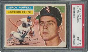 1956 Topps #144 Leroy Powell - PSA MINT 9 - None Higher!