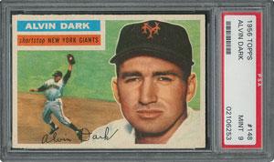 1956 Topps #148 Alvin Dark - PSA MINT 9 - one Higher!
