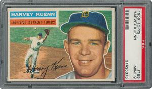 1956 Topps #155 Harvey Kuenn - PSA MINT 9 - None Higher!