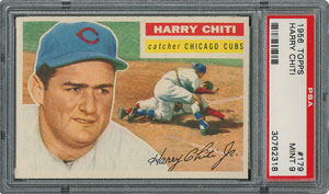 1956 Topps #179 Harry Chiti - PSA MINT 9 - None Higher!