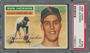 1956 Topps #186 Ron Jackson - PSA MINT 9 - None Higher!