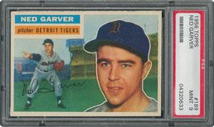 1956 Topps #189 Ned Garver - PSA MINT 9 - one Higher!