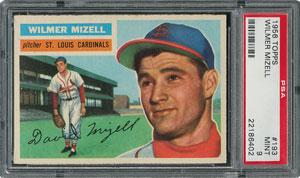 1956 Topps #193 Wilmer Mizell - PSA MINT 9 - one Higher!