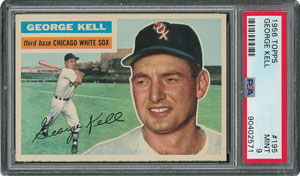 1956 Topps #195 George Kell - PSA MINT 9 - None Higher!