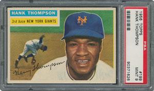 1956 Topps #199 Hank Thompson - PSA MINT 9 - one Higher!