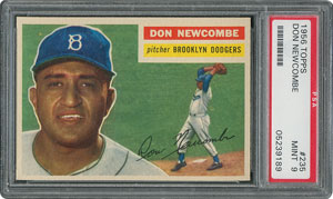 1956 Topps #235 Don Newcombe - PSA MINT 9 - None Higher!