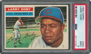 1956 Topps #250 Larry Doby - PSA MINT 9 - None Higher!