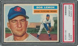 1956 Topps #255 Bob Lemon - PSA MINT 9 - None Higher!