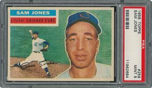 1956 Topps #259 Sam Jones - PSA MINT 9 - one Higher!