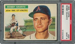 1956 Topps #261 Bobby Shantz - PSA MINT 9 - None Higher!
