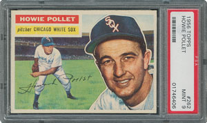 1956 Topps #262 Howie Pollet - PSA MINT 9 - None Higher!