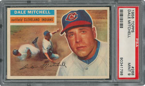 1956 Topps #268 Dale Mitchell - PSA MINT 9 - None Higher!