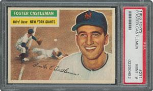 1956 Topps #271 Foster Castleman - PSA MINT 9 - None Higher!