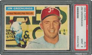 1956 Topps #275 Jim Greengrass - PSA MINT 9 - None Higher!