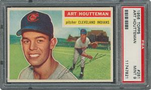1956 Topps #281 Art Houtteman - PSA MINT 9 - None Higher!