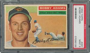 1956 Topps #287 Bobby Adams - PSA MINT 9 - None Higher!