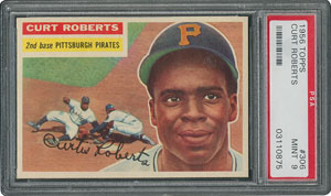 1956 Topps #306 Curt Roberts - PSA MINT 9 - None Higher!