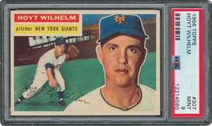 1956 Topps #307 Hoyt Wilhelm - PSA MINT 9 - None Higher!