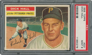 1956 Topps #331 Dick Hall - PSA MINT 9 - None Higher!