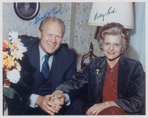 Gerald and Betty Ford