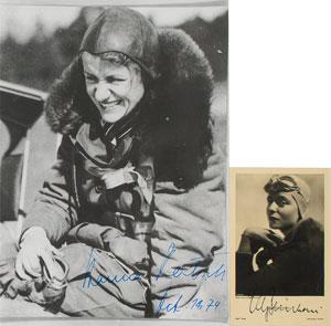 Hanna Reitsch and Elly Beinhorn