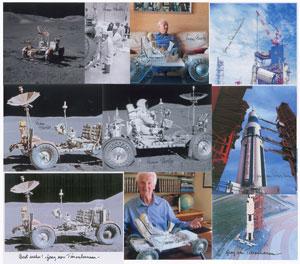 Apollo Lunar Rover: Pavlics and Von Teisenhausen