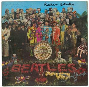 Beatles: Martin, Blake, and Haworth