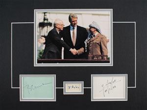 Clinton, Rabin, and Arafat