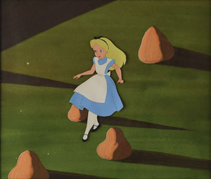 Alice in Wonderland Collection of (25) Production Cels