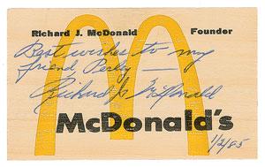 Richard McDonald
