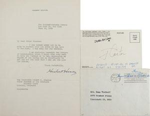 Hoover, Carter, and Roosevelt