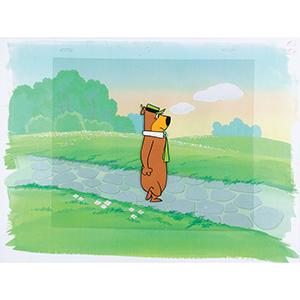 Yogi Bear production cel from The Huckleberry Hound Show