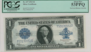 Fr. 237 1923 $1 Silver Certificate