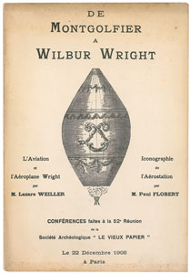 Wright Brothers French Booklet