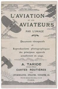 L'Aviation et les Aviateurs Booklet